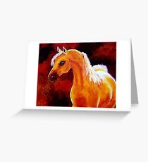 Horse in the Light Greeting Card