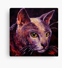 Shorthaired Blue Canvas Print