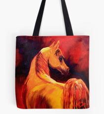 Arab Horse in Profile Tote Bag