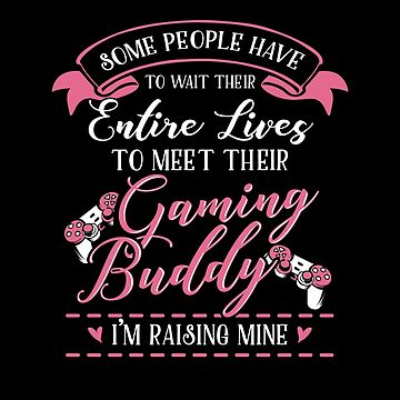 Gaming Mom and Baby Matching T-shirts Gift by KsuAnn