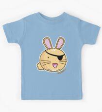 Fuzzballs Bunny Pirate Kids Tee