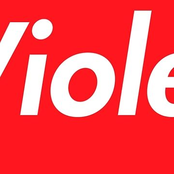 Hello My Name Is Violet Name Tag by efomylod