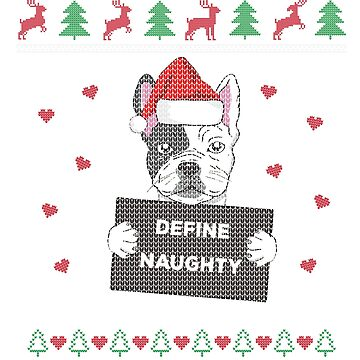 French Bulldog Ugly Christmas Frenchie Mom Dog Gift by BlueBerry-Pengu