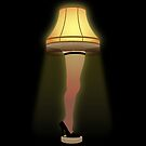 A Christmas Story - Leg Lamp by deancoledesign