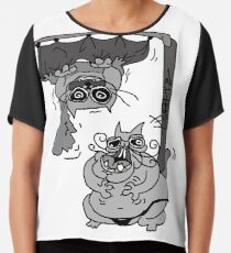 Shower Curtain Drawing T Shirts