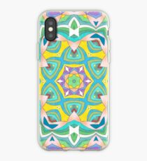Colors and Bows Fall Into Winter Design Collection at Green Bee Mee iPhone Case