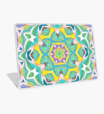 Colors and Bows Fall Into Winter Design Collection at Green Bee Mee Laptop Skin
