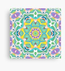Colors and Bows Fall Into Winter Design Collection at Green Bee Mee Canvas Print