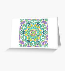 Colors and Bows Fall Into Winter Design Collection at Green Bee Mee Greeting Card