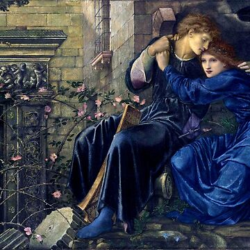 "Edward Burne-Jones ""Love among the ruins"" by ALD1"
