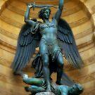 St Michel - Paris France by Bob  Perkoski
