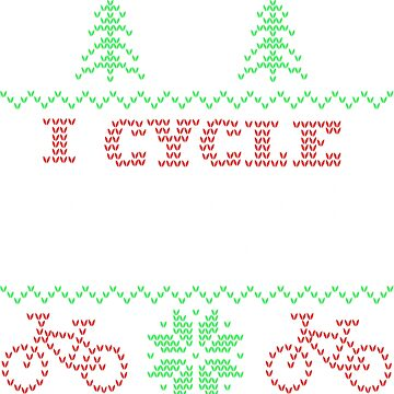 Ugly Christmas Cycling Sweater by Adik