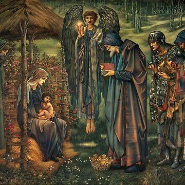 "Edward Burne-Jones ""The Star of Bethlehem"" by ALD1"
