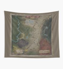 Fallout 76 Map (West Virgina) Wall Tapestry