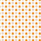 Seamless pattern with gift boxes. by aquamarine-p