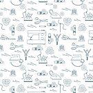 Sewing and needlework seamless pattern. by aquamarine-p