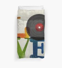 Love is Music, Music is Love Duvet Cover