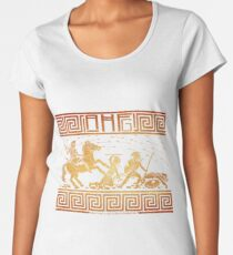 Amazons: Any Color Background Women's Premium T-Shirt