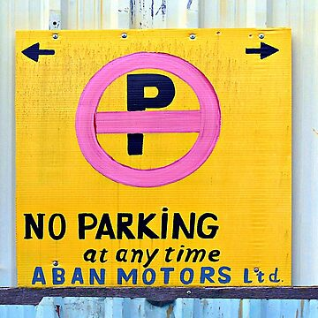 No Parking  by ethna