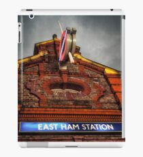 East Ham Tube Station iPad Case/Skin