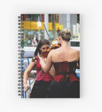 Corset Concert Spiral Notebook