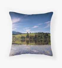 Early Morning Reflections, Bad Bayersoien Throw Pillow