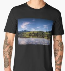 Early Morning Reflections, Bad Bayersoien Men's Premium T-Shirt