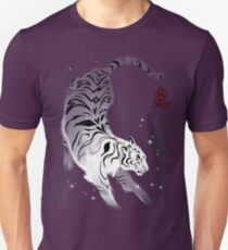 Candle Flies Tiger Unisex T-Shirt