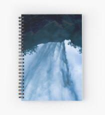 Beyond the Waterfall Spiral Notebook