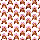Beyo - Apeshit - QueenB portrait pattern illustration by Anyeva
