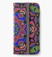 Inverted Colors and Bows Fall Into Winter Design at Green Bee Mee iPhone Wallet/Case/Skin