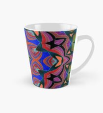 Inverted Colors and Bows Fall Into Winter Design at Green Bee Mee Tall Mug