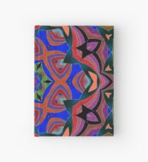 Inverted Colors and Bows Fall Into Winter Design at Green Bee Mee Hardcover Journal