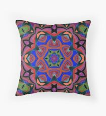 Inverted Colors and Bows Fall Into Winter Design at Green Bee Mee Throw Pillow