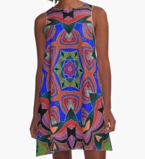 Inverted Colors and Bows Fall Into Winter Design at Green Bee Mee A-Line Dress