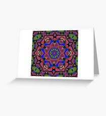Inverted Colors and Bows Fall Into Winter Design at Green Bee Mee Greeting Card