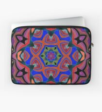 Inverted Colors and Bows Fall Into Winter Design at Green Bee Mee Laptop Sleeve