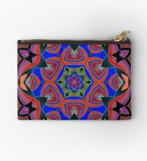 Inverted Colors and Bows Fall Into Winter Design at Green Bee Mee Studio Pouch