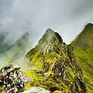 The Aonach Eagach by Mark Greenwood
