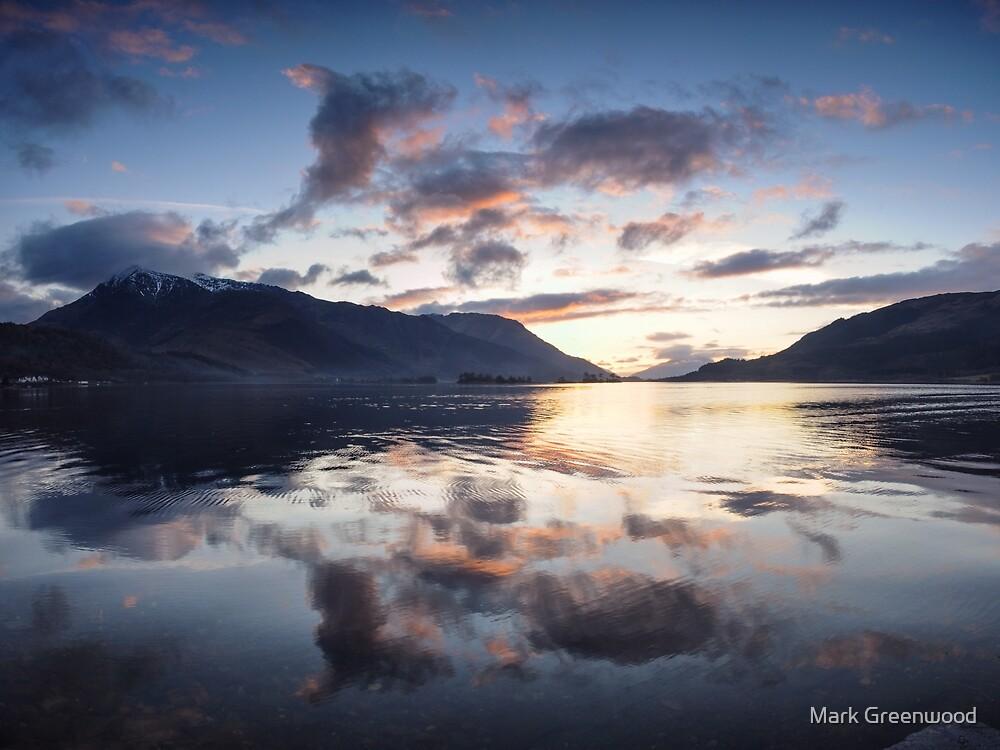 Ballachulish Sunset by Mark Greenwood