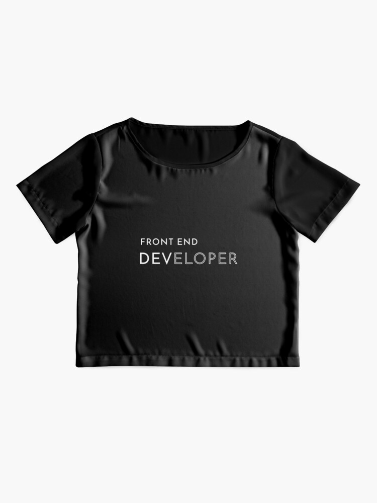 Alternate view of Front End Developer Chiffon Top
