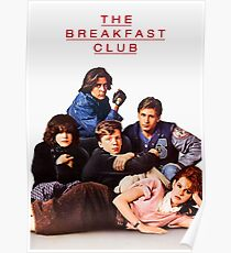 Das Frühstücksclub-Poster Poster