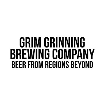 Grim Grinning Brewing Company Beer From Regions Beyond by FandomTrading