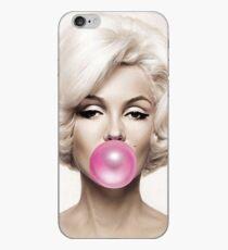 Marilyn Monroe Rosa Kaugummi iPhone-Hülle & Cover
