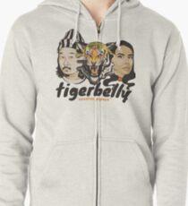 TigerBelly Podcast Design Geschenk Shirt Tiger Art Kapuzenjacke