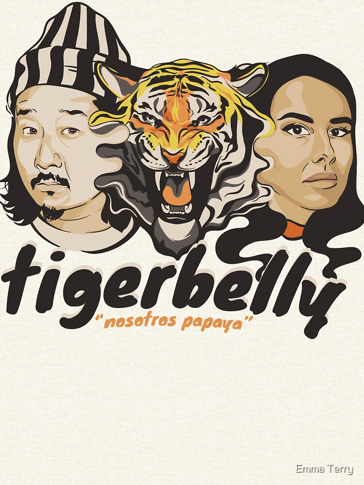 TigerBelly Podcast Design Gift Shirt Tiger Art de emmaterry