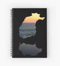 The Grotto, Great Ocean Rd, Victoria Spiral Notebook