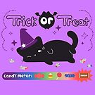 Trick or Treat Cat by Stephanie Hardy