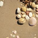 Pebbles and Sand by Helen Richards