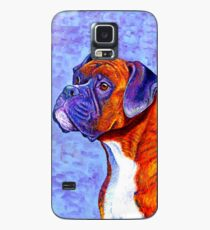 Colorful Brindle Boxer Dog Case/Skin for Samsung Galaxy